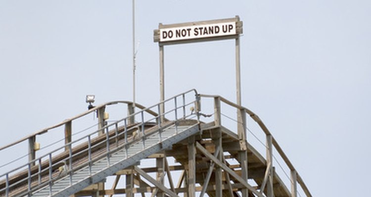 Wooden roller coasters are still found in theme parks worldwide.