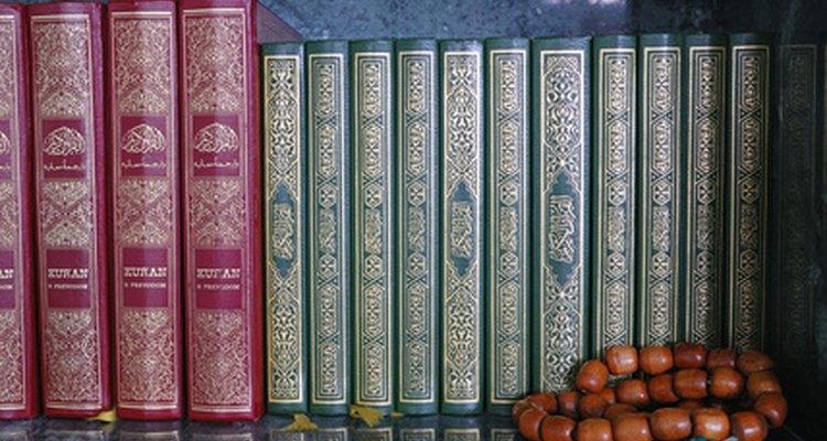 Poesia e livros mostrando a arte islâmica, arquitetura e cultura são bons presentes