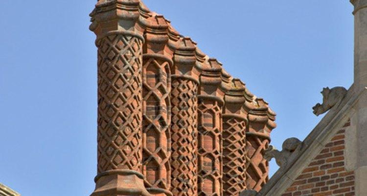 Elaborate Tudor Chimneys