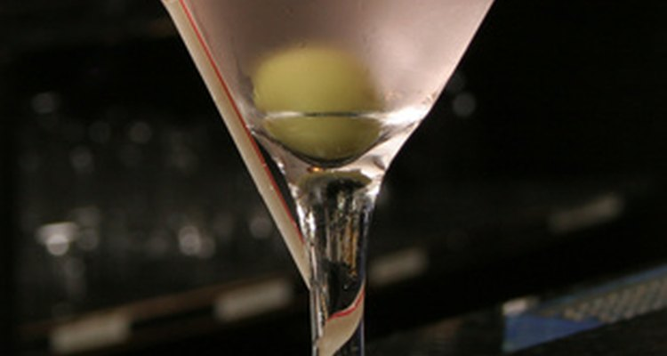The martini is an iconic mid-century cocktail