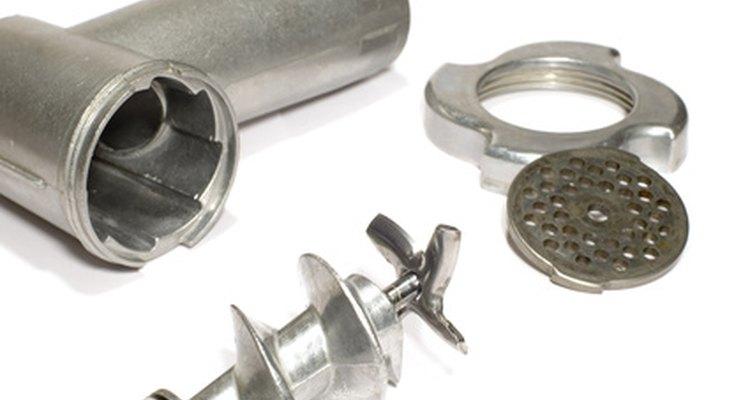 Limpeza e armazenamento de peças de moedor
