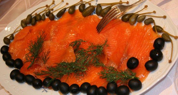 El salmón y otros pescados locales son considerados especialidades de Noruega.
