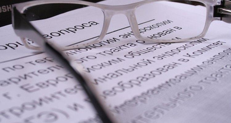 Revise as carta para corrigir eventuais erros.
