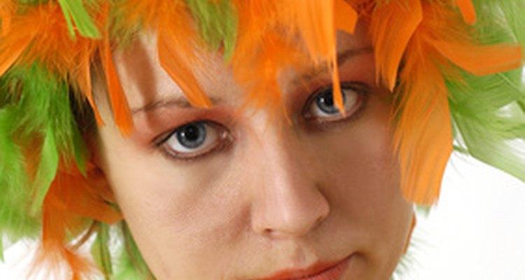 Crazy wigs often have their own day during spirit week.