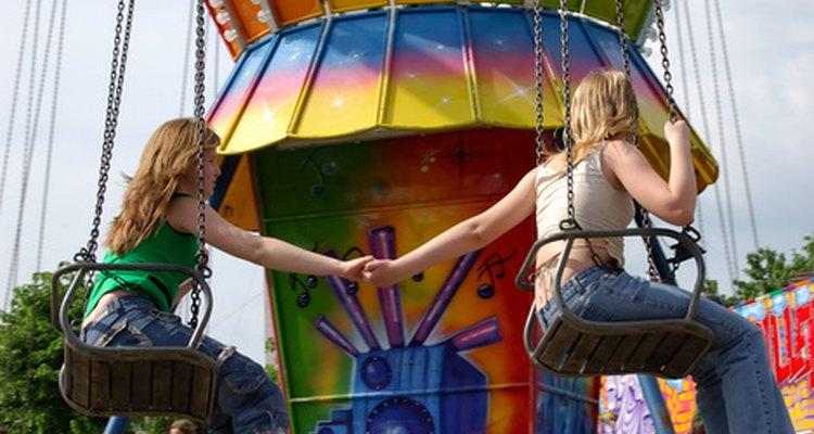 La gente que se hace amiga desde pequeña, es amiga durante toda la vida.