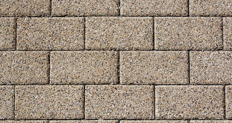 Los bloques de concreto son fáciles de pintar después de la preparación adecuada.