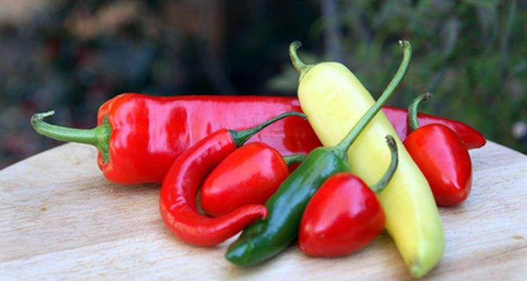 Los chiles Anaheim más suaves que muchas otras variedades.