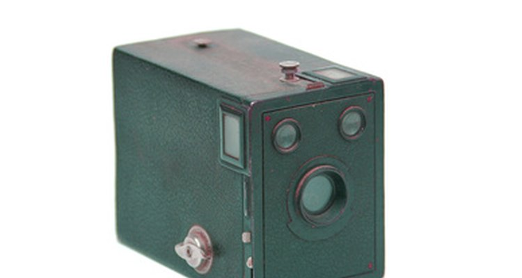 The box camera from the 1930s became less popular as cameras became more compact.