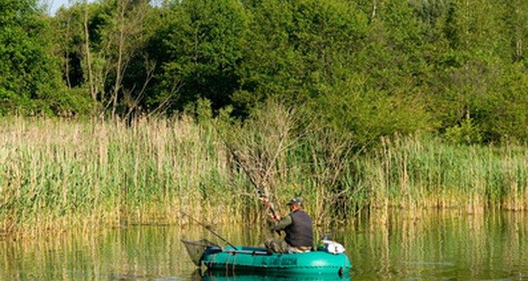 Usa las herramientas correctas para pescar.