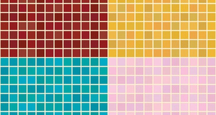 As opções de cores são praticamente ilimitadas quando se escolhe azulejos de vidro para piscinas