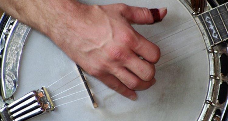 Make unusual banjo picks from ping pong balls.