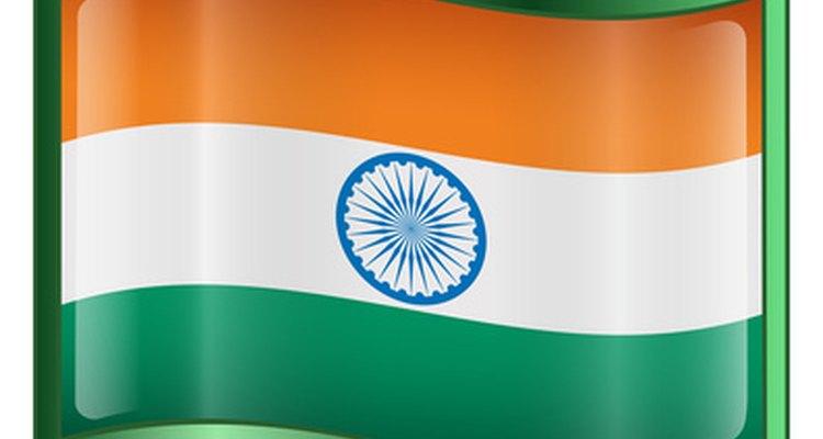Bandera de India.