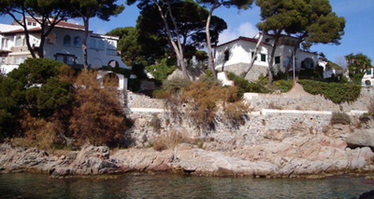 Property along the coast is at high risk of damage or destruction.