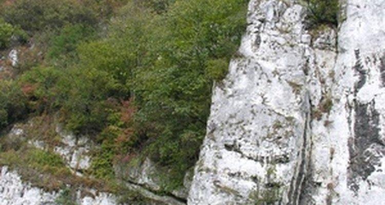 Você pode encontrar formações espetaculares de calcário por todo o mundo