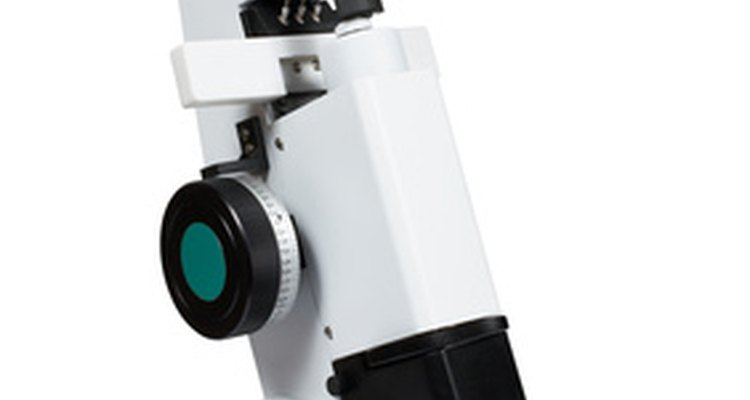 Microscopes are valuable research tools that should be handled with care.