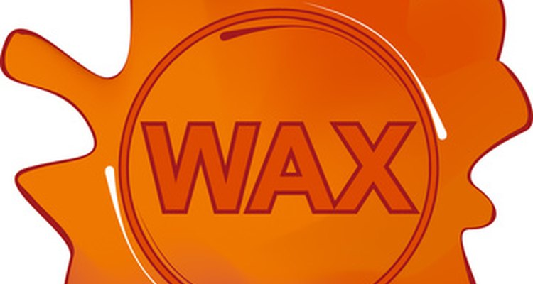 Remove wax stains with care.