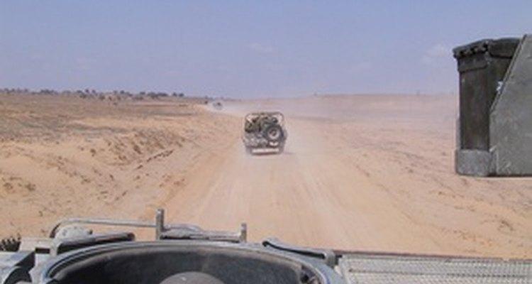 .Vehículos armados en patrulla
