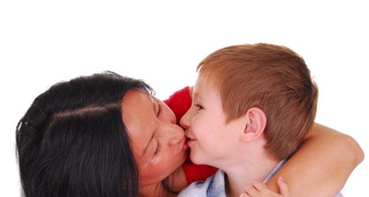 Muestra a los niños qué feliz eres cuando realizan buenas elecciones.
