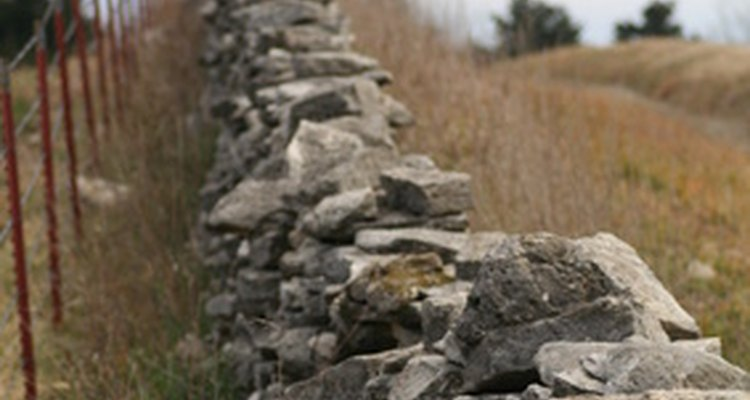 The oldest form of human construction is the stone wall.