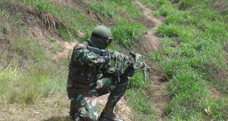 Airsoft teams compete on a variety of different terrains.