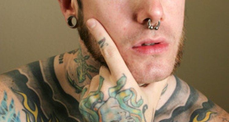 En algunos casos, la piel rechaza la tinta del tatuaje.