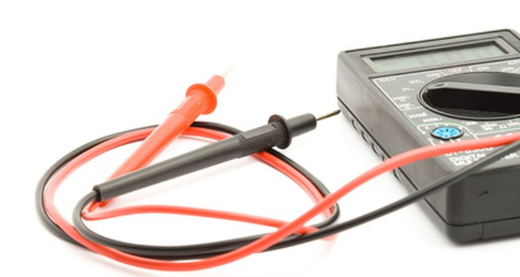 A multimeter is your best friend when it comes to testing the voltage regulator.