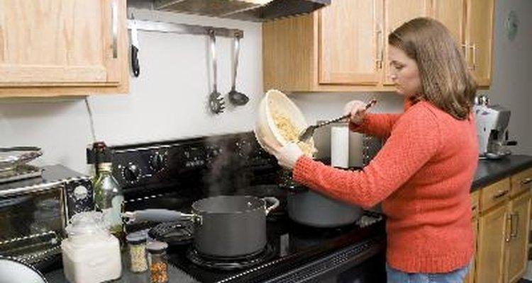 Las estufas de cerámica tardan más tiempo en calentarse