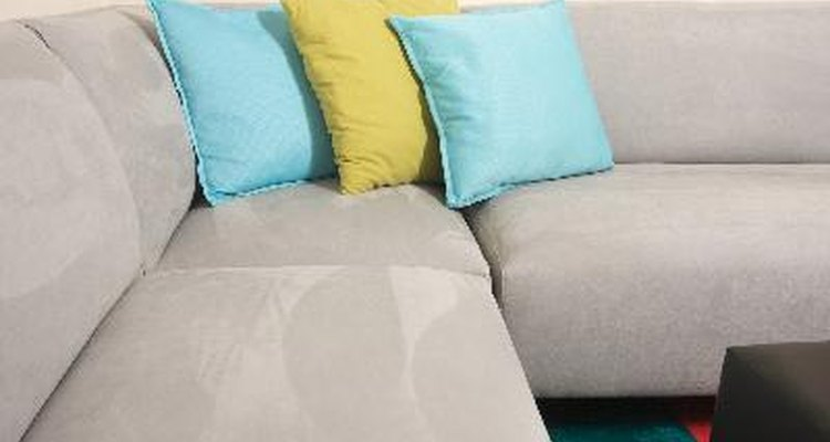 Steam won't harm your suede sofa.