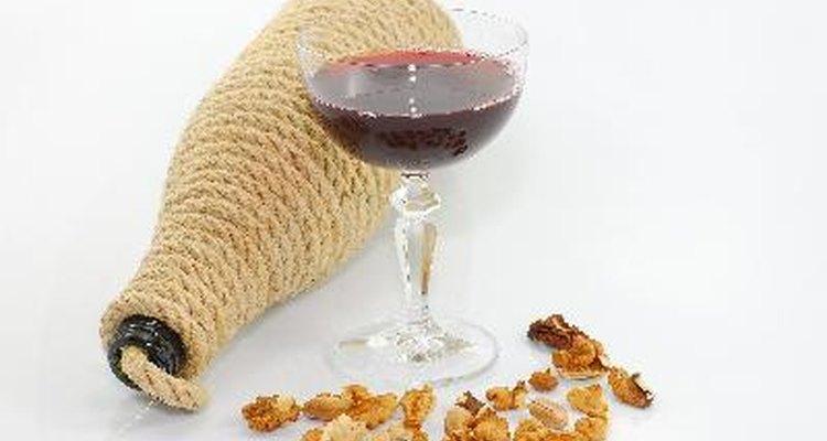 Cómo hacer vino de pasas.