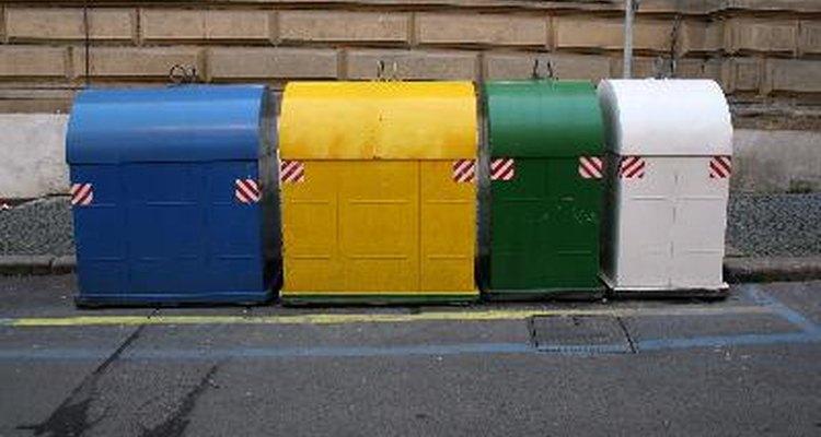 Eliminación apropiada de los desechos.