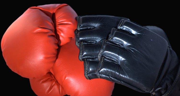 Um saco de pancada pesado é essencial no treino de qualquer lutador