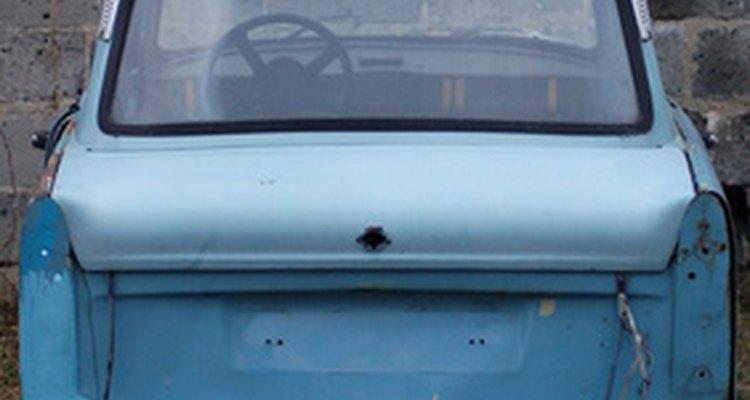Peças para veículos fabricadas a partir de alumínio podem enferrujar