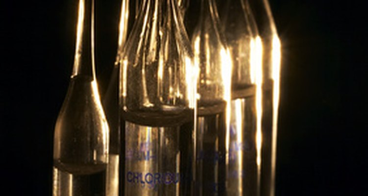 Ampolas são frequentemente fechadas depois do ar ser retirado de dentro delas
