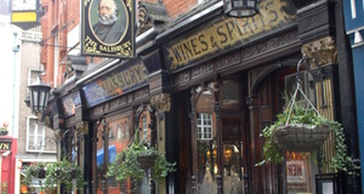 This is a classic pub exterior.