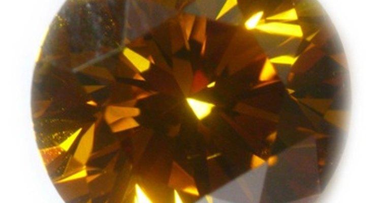 Diamante amarillo canario