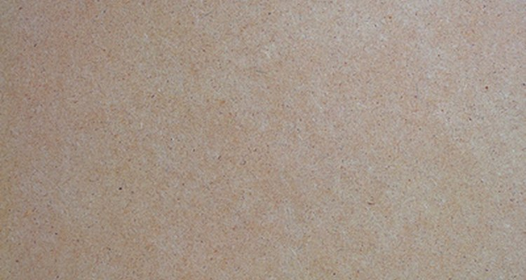 There are three different types of MDF: particle board, fibre board and laminated board.