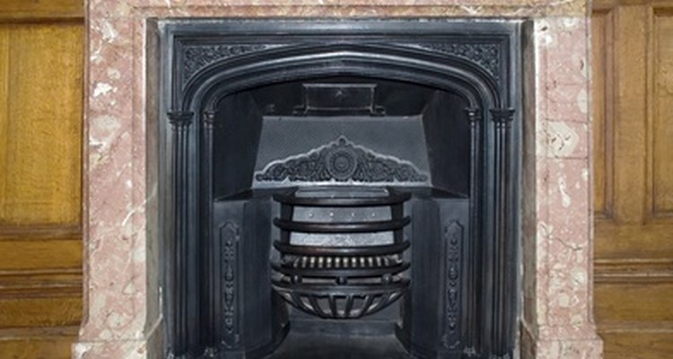 Marble fireplaces are classic, but sometimes they need updating.