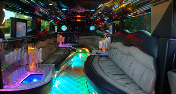 Many newer limo rentals include extras like lights and music.