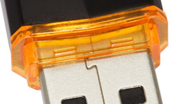 Pendrives são conectados através da porta USB
