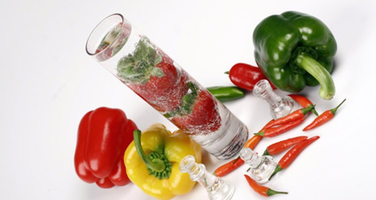 Thermogenic foods raise the metabolism by producing heat.