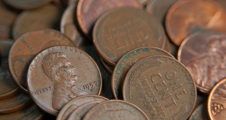 Copper pennies can shine again after an application of tomato juice.