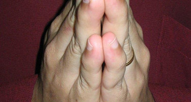 Essa é a posição da mão para moer