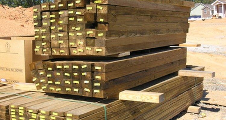 As resinas protetoras de madeira podem impedir o apodrecimento