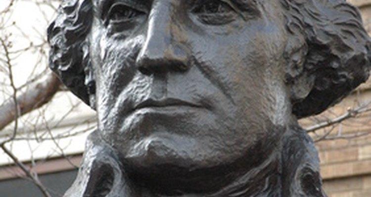 George Washington jugó un papel importante en la construcción del Capitolio.