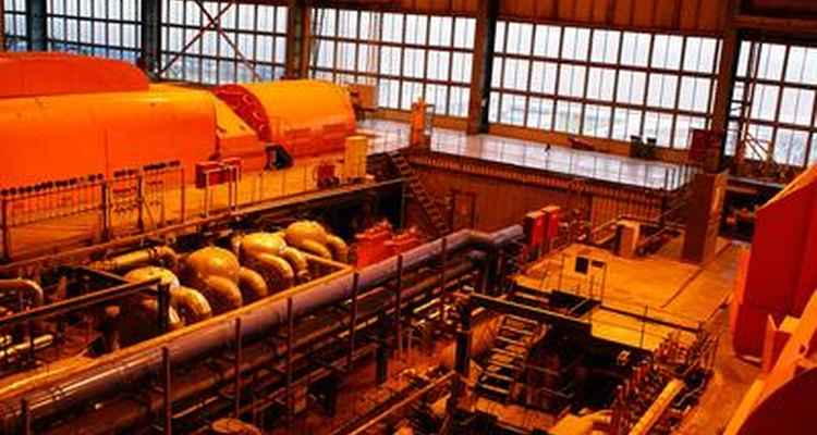 Steam turbines extract the latent heat of vaporisation of water.