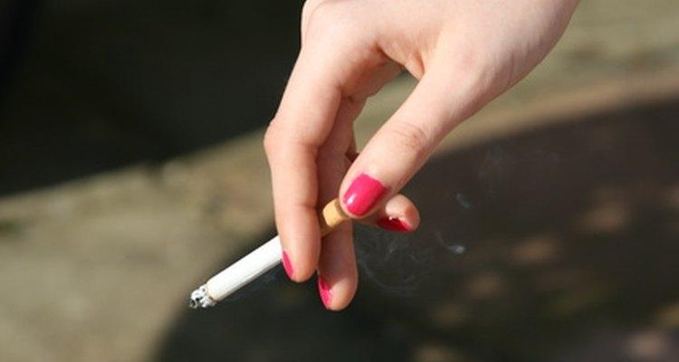 Los cigarrillos Capri son más delgados que el resto.