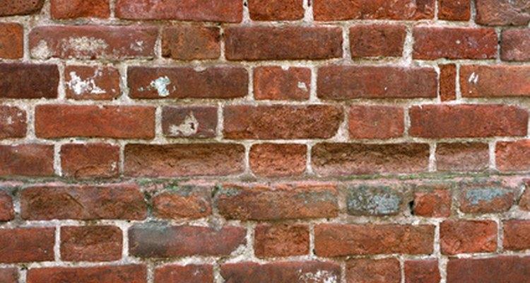 Los pormenores de la construcción de paredes de ladrillos.