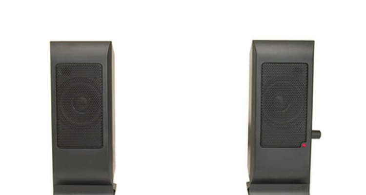 Use self-powered speakers, such as for a computer, to hook up to a CD player with no other equipment.