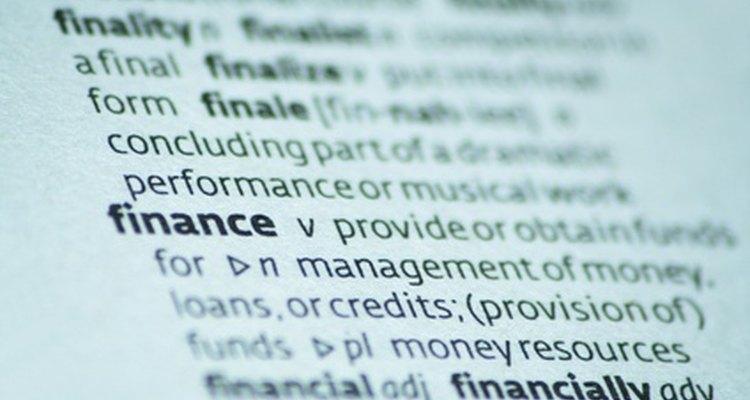Fontes de financiamento estão disponíveis a curto e longo prazo