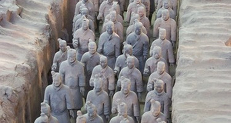 The Terracotta Warriors were discovered in 1974.